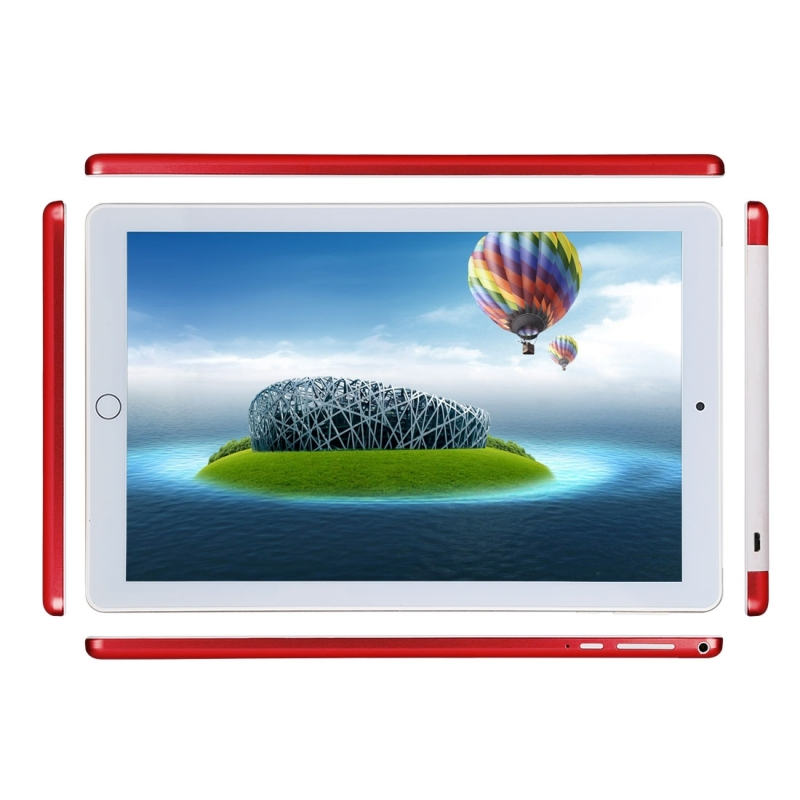 3G Phone Call Tablet PC, 10.1 inch, 1GB+16GB, Android 4.4 MTK6582 Quad Core 1.3GHz, Dual SIM, Support GPS, OTG, WiFi, Bluetooth (Red)