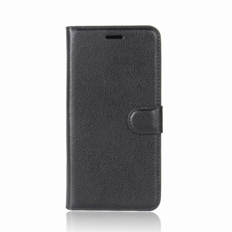 For Xiaomi Redmi Note 5 Pro Litchi Texture Horizontal Flip Protective Leather Case with Holder & · XIM0041B_1. ...
