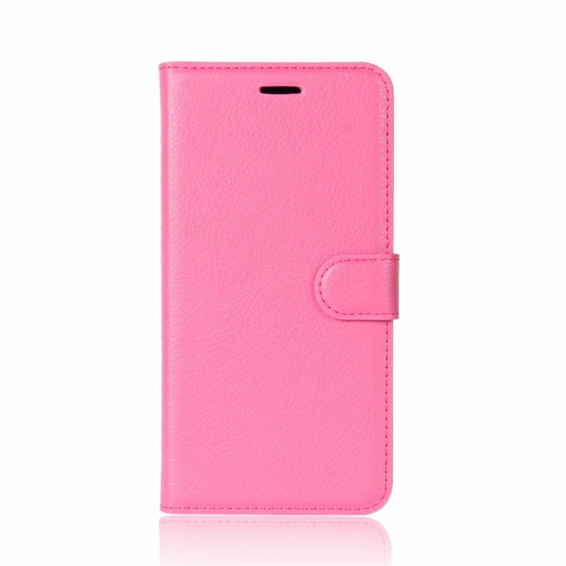For Xiaomi Redmi Note 5 Pro Litchi Texture Horizontal Flip Protective Leather Case with Holder & · XIM0041M_1. ...