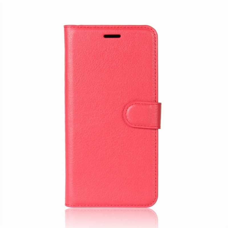 For Xiaomi Redmi Note 5 Pro Litchi Texture Horizontal Flip Protective Leather Case with Holder &