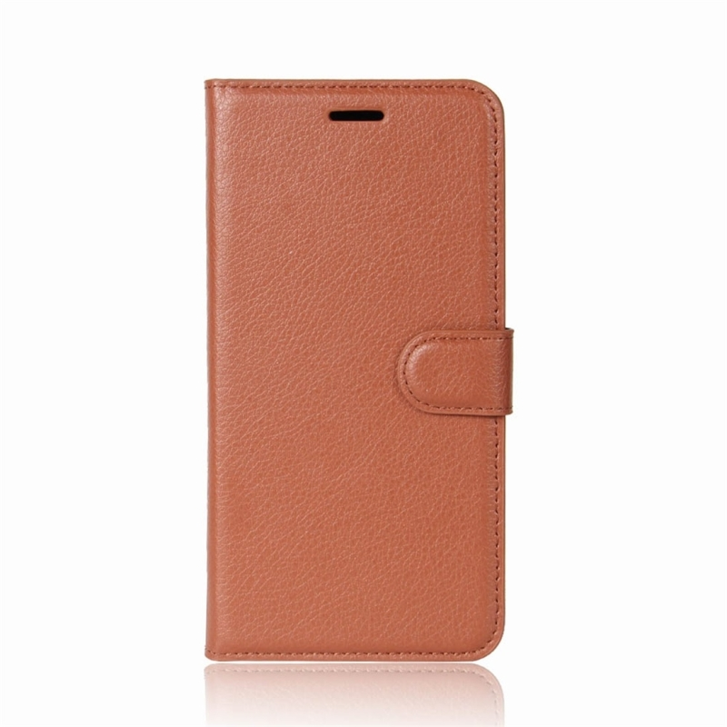 For Xiaomi Redmi Note 5 Pro Litchi Texture Horizontal Flip Protective Leather Case with Holder & · XIM0041Z_1. ...