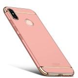 MOFI for Xiaomi Redmi Note 5 Detachable Three Stage Splicing Full Coverage Hard PC Protective Back Case (Rose Gold)
