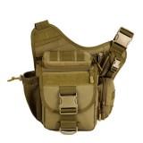 Men Women Waterproof Nylon Camera Bag Outdoor Multi-functional Crossbody Bag Tactical Package