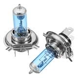 Pair DC12V White 6000K 100W 3600LM H1 H4 H7 H11 Car Halogen Headlights HOD Bulbs Lamps
