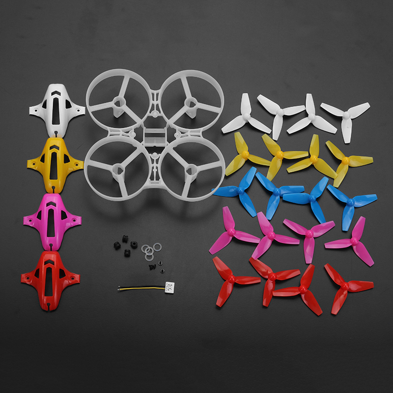 Frame Kit Canopy Propeller Sets For Kingkong//LDARC TINY 6X RC Drone Quadcopter S