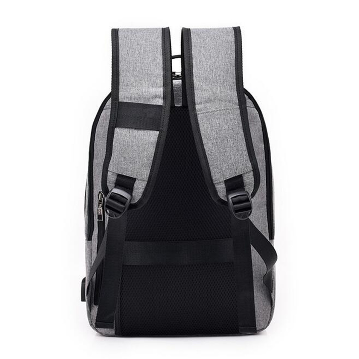 Anti-theft Men Women Laptop Notebook Backpack USB Charging Port Lock Travel School Bag