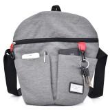 Women Leisure Oxford Waterproof Crossbody Bag Multi-function Messenger Bag