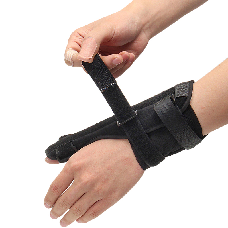 adjustable elastic thumb wrist spica splint support fracture sprain arthritis injury brace. Black Bedroom Furniture Sets. Home Design Ideas