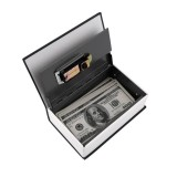 Hot Steel Simulation Dictionary Secret Book Safe Money Box Case Money Jewelry Storage Box Security K