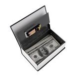 Hot Steel Simulation Dictionary Secret Book Safe Money Box Case Money Jewelry Storage Box Security K