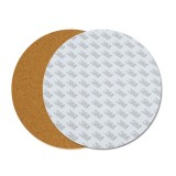 200*3mm Round Heated Bed Heating Pad Insulation Cotton With Cork Glue For 3D Printer Reprap Ultimake