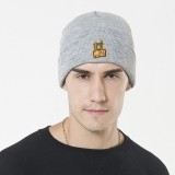 Mens Womens Unisex Winter Warm Knit Beanie Hat Couple Outdoor Earmuffs Thick Ski Skull Cap