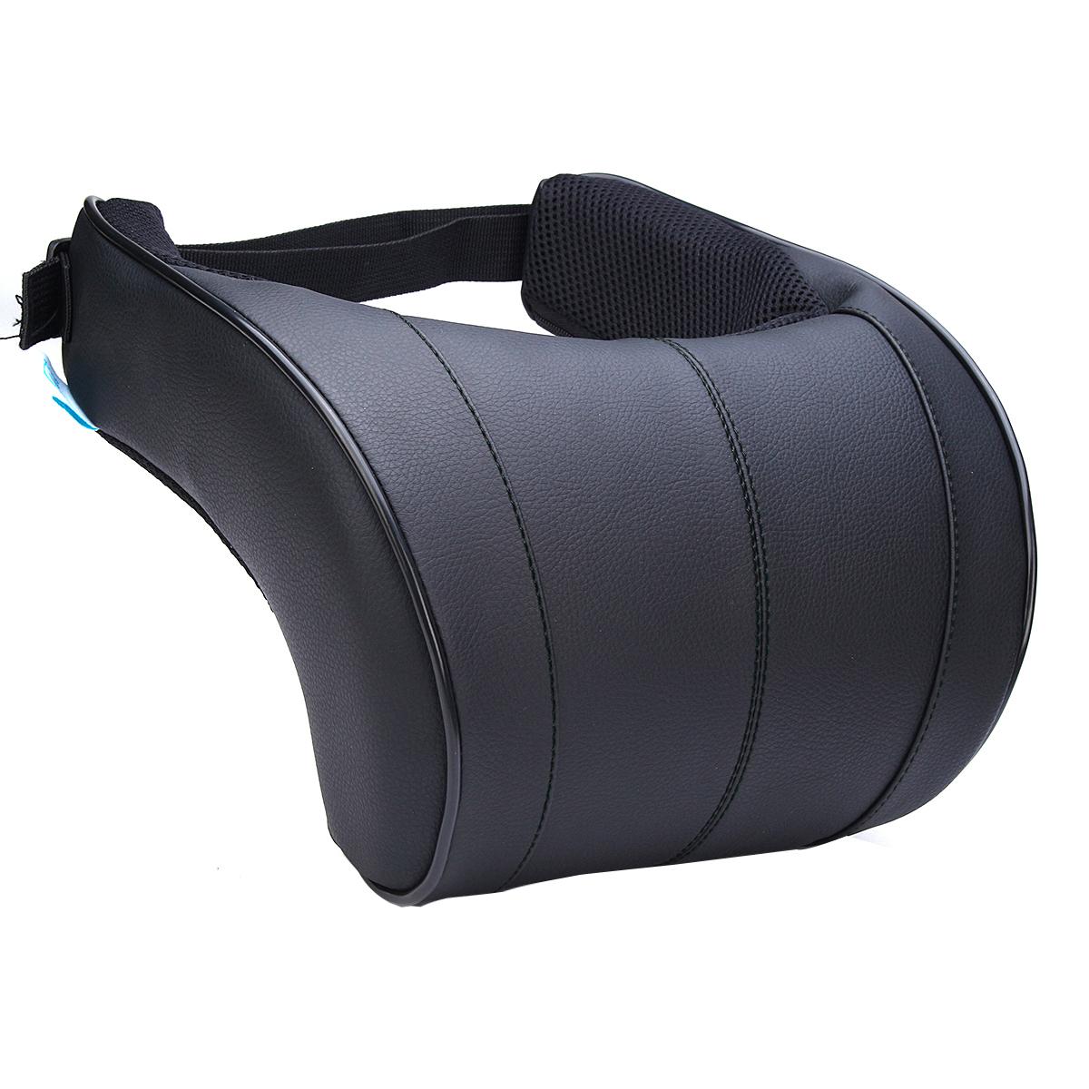 1PCS Pillows Head Neck Rest Headrest Support Cushion Memory Foam Pad Car Seat