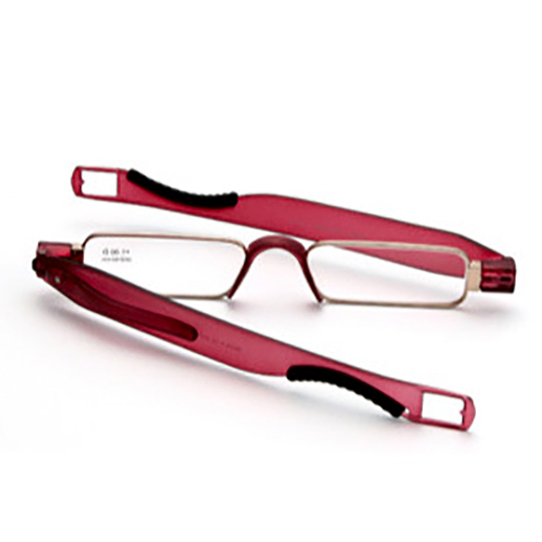 Men Women Portable 360 Rotation Folding Reading Glasses Casual Lightweight Presbyopic Glasses