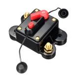 12V/24V 40Amp Manual Reset Circuit Breaker Car Auto Boat Fuse Waterproof