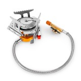 LAOTIE Outdoor Camping Refill Adapter Cooking Stove Gas Flat Cylinder LPG Flat Tank Converter