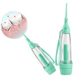 Portable Dental Care Water Jet Green Oral Irrigator Flosser Baby Toothbrushes Water Flosser