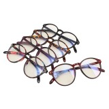 Vintage Round Eyeglass Frame Glasses Retro Spectacles Clear Lens Eyewear