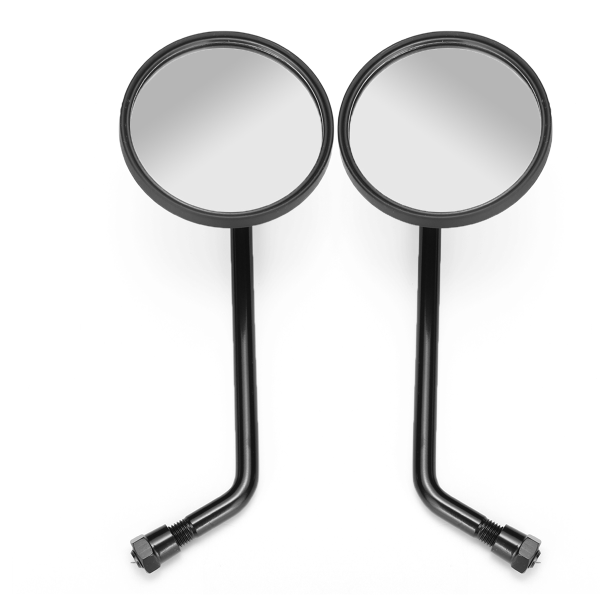 mirrors harley davidson round retro sportster mirror motorcycle ryca motors classic matte rearview autoleader 1pair abs motorcycles alexnld side automobiles