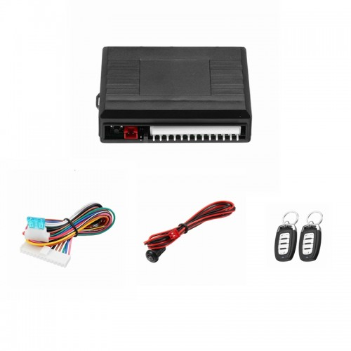 Universal Car Alarm Systems 12V Auto Remote Central Door Locking Vehicle Keyless Entry System Kit