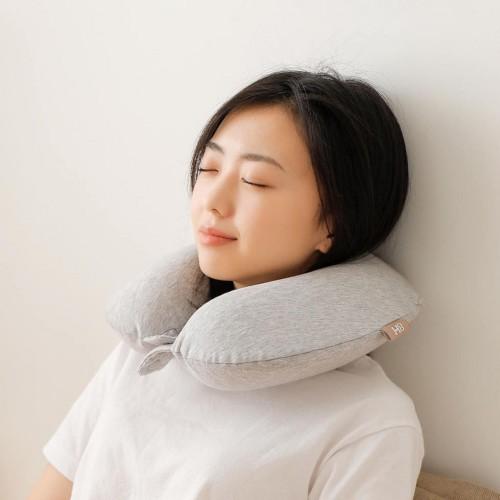 Xiaomi Original 8H U Shaped Memory Foam Neck Protective Waist Pillow Antibacterial Portable Neck Pil