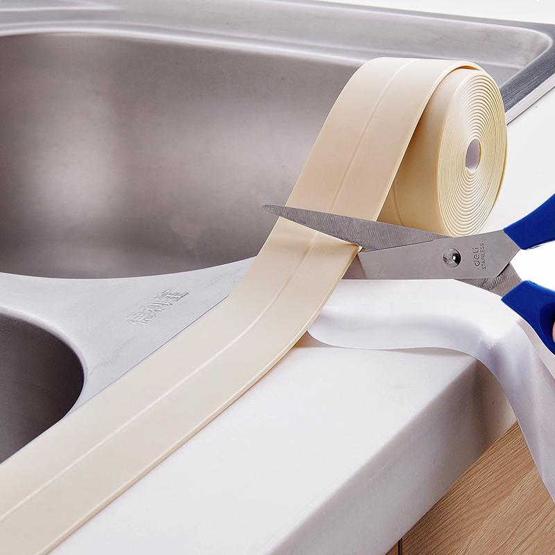 Honana 3 8mm Kitchen Bathroom Self Adhesive Wall Seal Ring