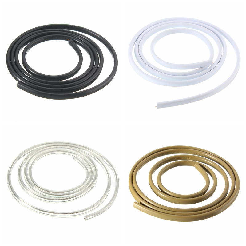 Pendant Light Cable: 1M 2 Core 0.75mm DIY Light Switch Wire Electrical Cable