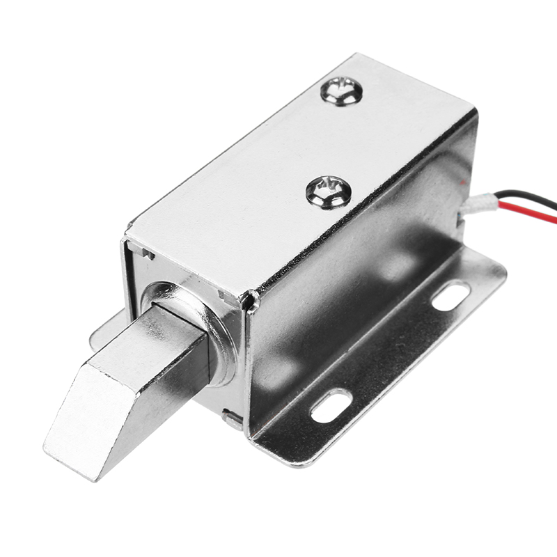 24v Dc Electric Lock Assembly Solenoid Long Locking Tongue