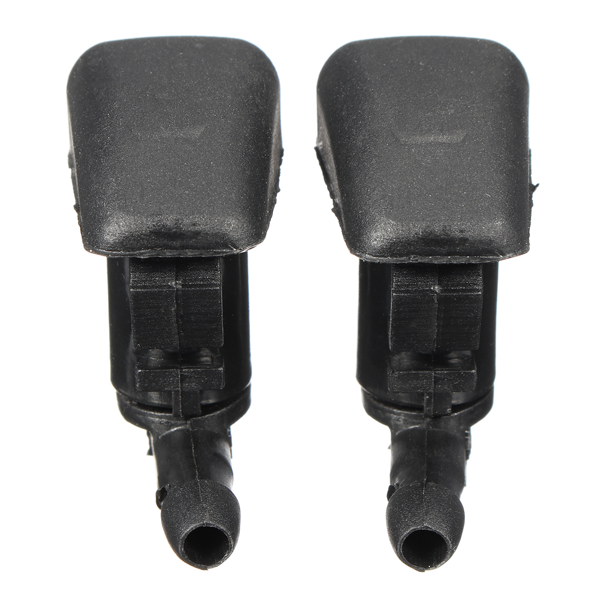 2Pcs Front Windshield Wiper Washer Sprayer Nozzles For