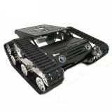 Multi-Color Y100 DIY Crawler Robot Tank Chassis Intelligent Car Kit 9V Motor With Hall Sensor