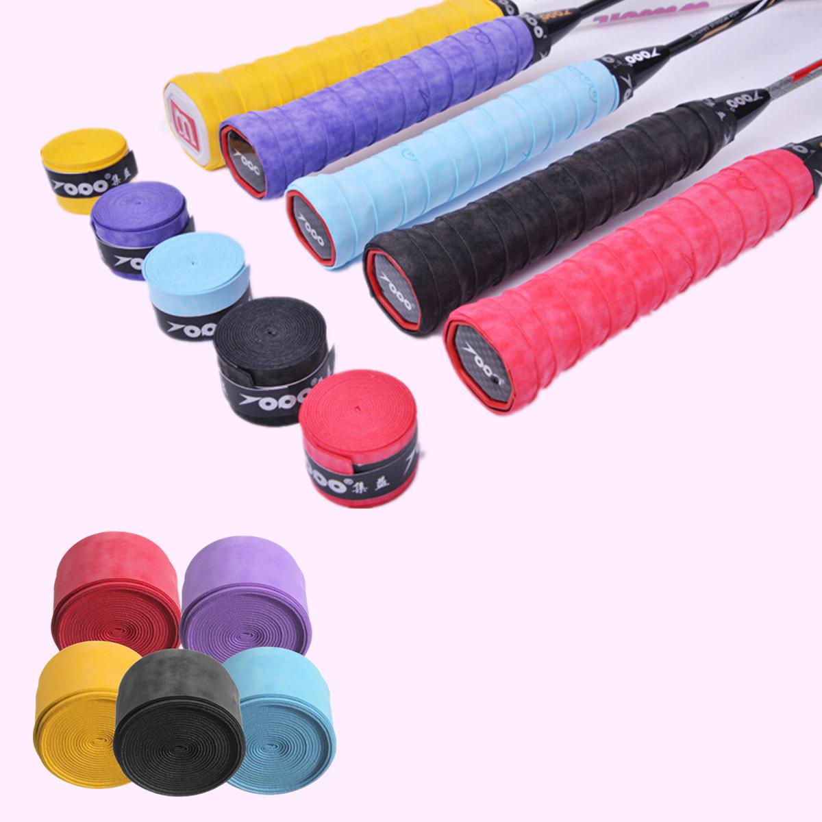 2511000.75mm Anti Slip Tennis Racket Grip Tapes Badminton Racket Grip Tape Squash Tape
