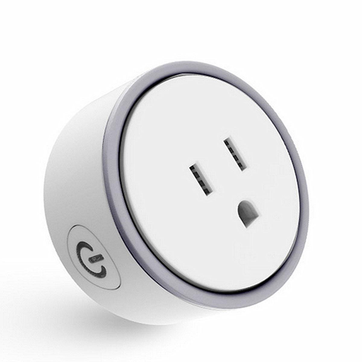 mini smart wifi socket remote control switch power socket. Black Bedroom Furniture Sets. Home Design Ideas