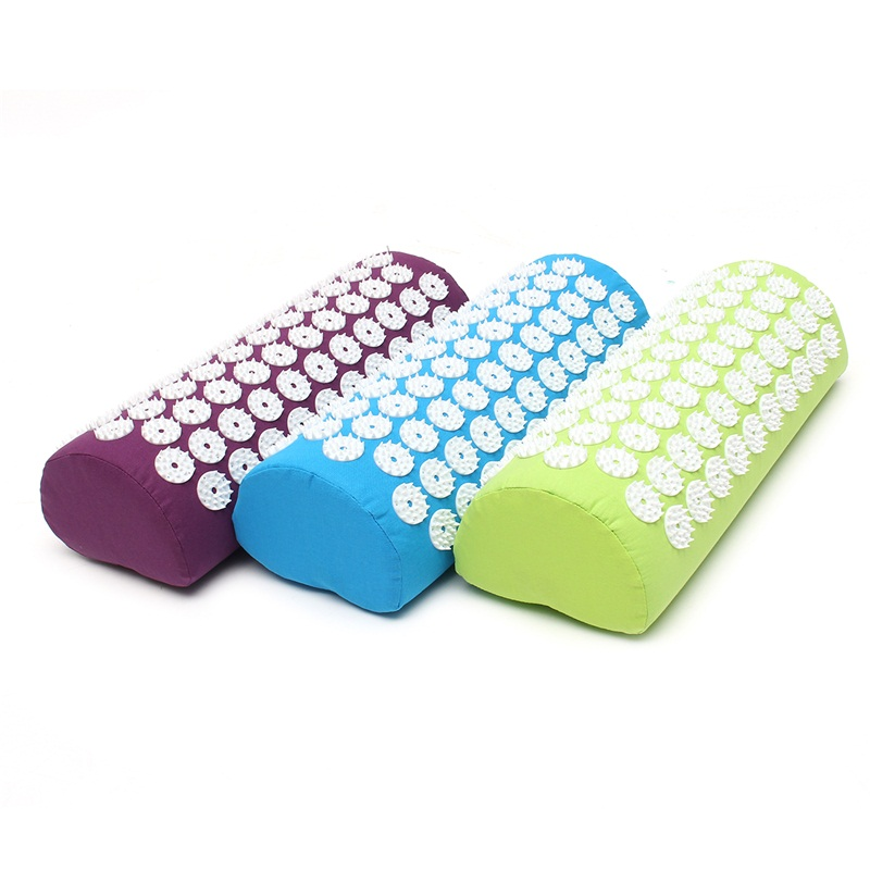 Acupuncture Massage Mat Pillow Cushion Stress Pain Relieve Body Therapy Acupressure Massager