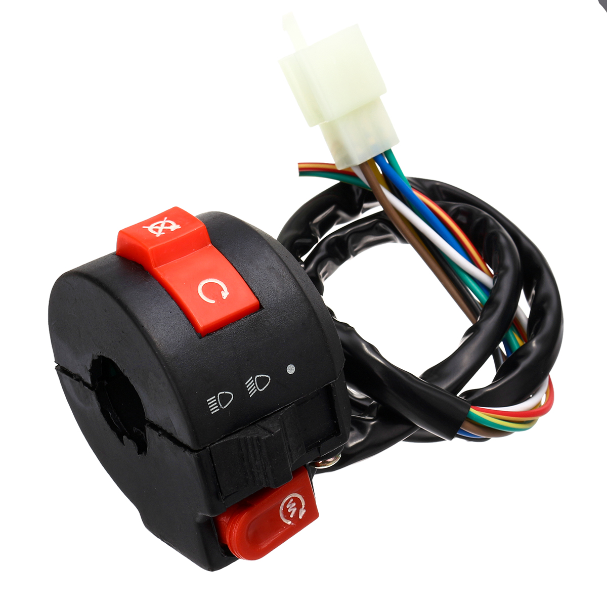 Full Electric Start Engine Wiring Harness Loom For Cdi 110cc 125cc Atv More Detailed Photos Quad