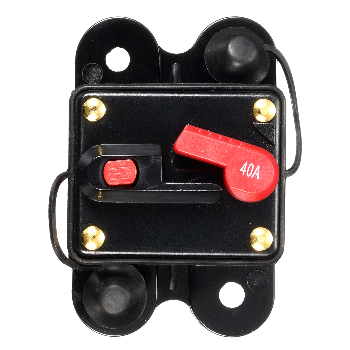 12V/24V 40Amp Manual Reset Circuit Breaker Car Auto Boat Fuse Waterproof