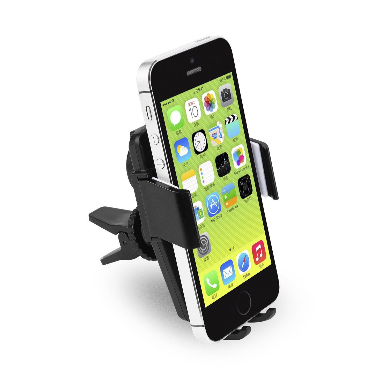 360 Degree Rotation Air Vent Automatic Electric Charger Car Phone Mount Ventilation Holder T360 Abs Stand For Iphone