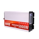 DC 12V/24V/48V To AC 220V 5000W Pure Sine Wave Power Inverter Dual LCD Display Converter