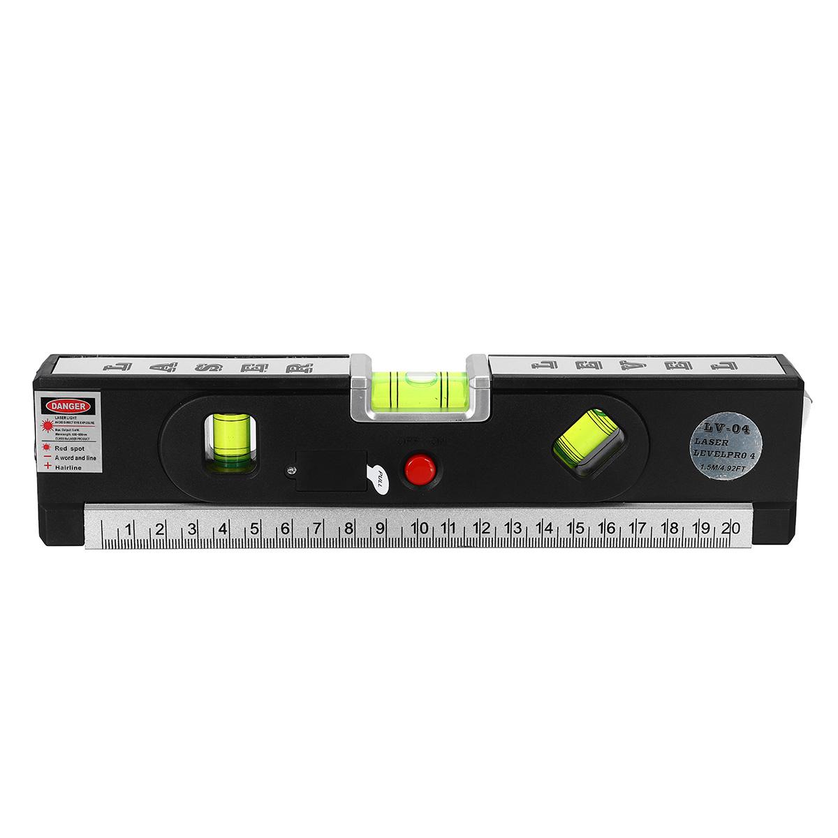 Laser Lv04 650nm Aluminium Plate Laser Tool Spirit Level