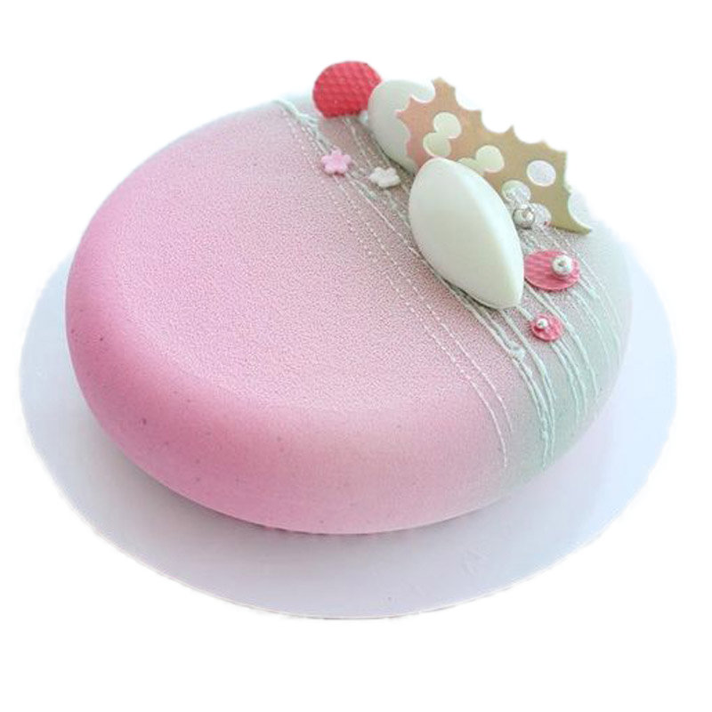 Round Silicone Cake Mold For Mousses Ice Cream Chiffon Cakes Baking Mold Bakeware Tools