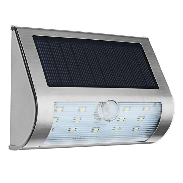 Arilux Solar 13 Led Pir Motion Sensor Light Outdoor Garden Ip65 Security Wall Lamp