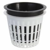 Plastic Mesh Pot Net Basket Hydroponic Aeroponic Flower Container Plant Grow Pot Cup