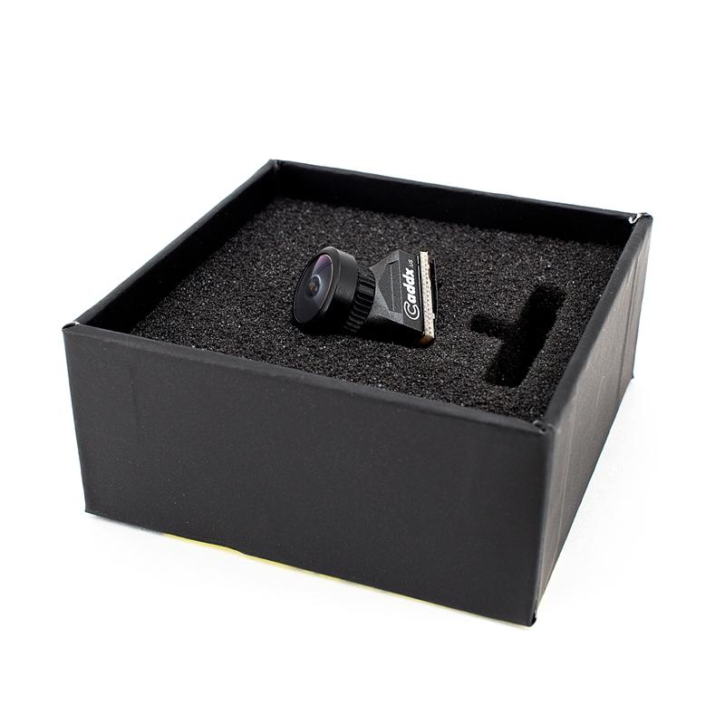 Caddx Turbo EOS1 1200TVL 2.1mm 1/3 CMOS 16:9 Mini FPV Camera NTSC/PAL For RC Drone