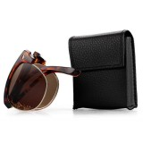 Men Women Folding Presbyopic Glasses With Glasses Case Vintage Metal Frame Reading Glasses