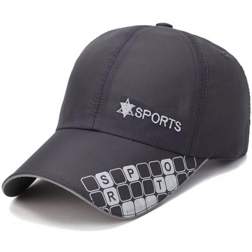 Men Women Baseball Cap Letter Printting Quick Dry Hat Outdoor Sport Sunshade Peaked Caps