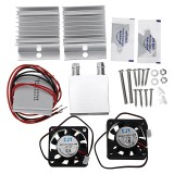 DIY Semiconductor Refrigerator Radiator Cooling Equipment Cooler System Kit Double Cooling Plate