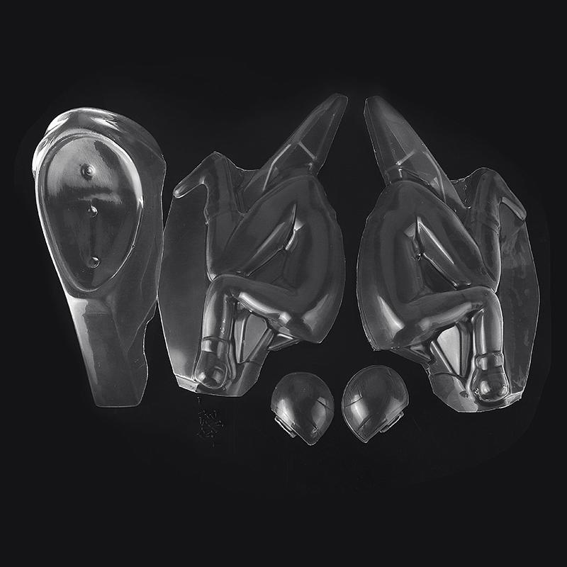 FIJON PVC Transparent Body Car Shell For FJ913 1//5 Motorcycle RC Car Parts