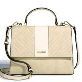 Kadell Scrub Leather Twill Design Handbag Clamshell Lady Messenger Bag Crossbody Bag