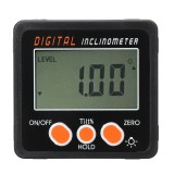 0.05 Spirit Level Digital Inclinometer Protractor Angle Finder Gauge Meter Bevel