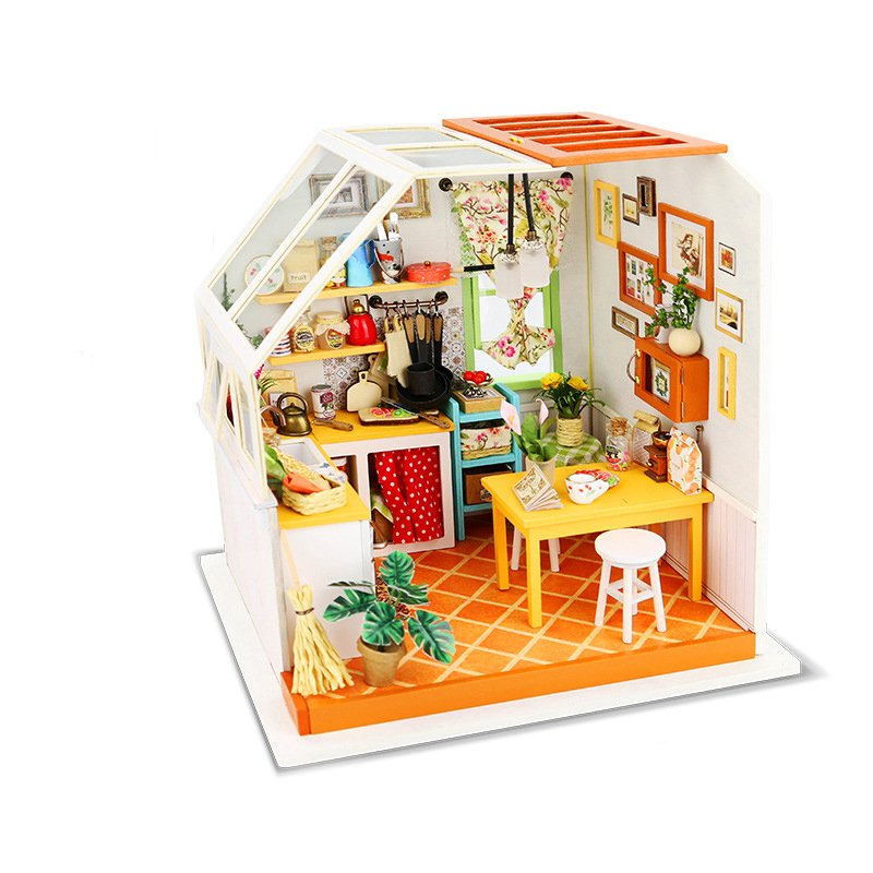 Robotime DG105 DIY Doll House Miniature With Furniture