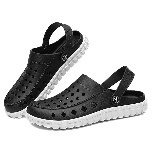 Men Breathable Waterproof Hollow Outs Beach Sandals Rainy Days Shoes